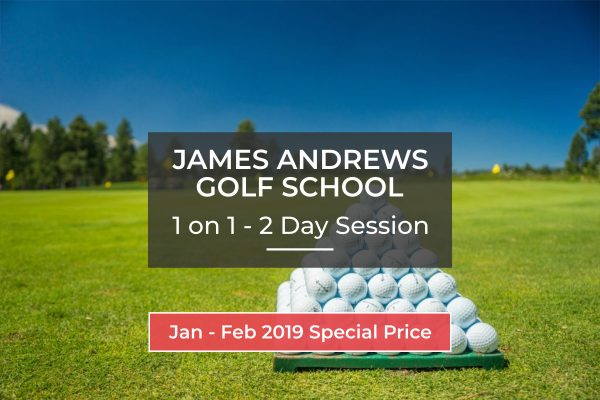 Golf School - 2 Day Session - 1 on 1 (Special Price)