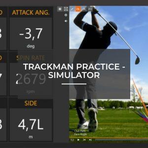 Trackman Practice - Simulator
