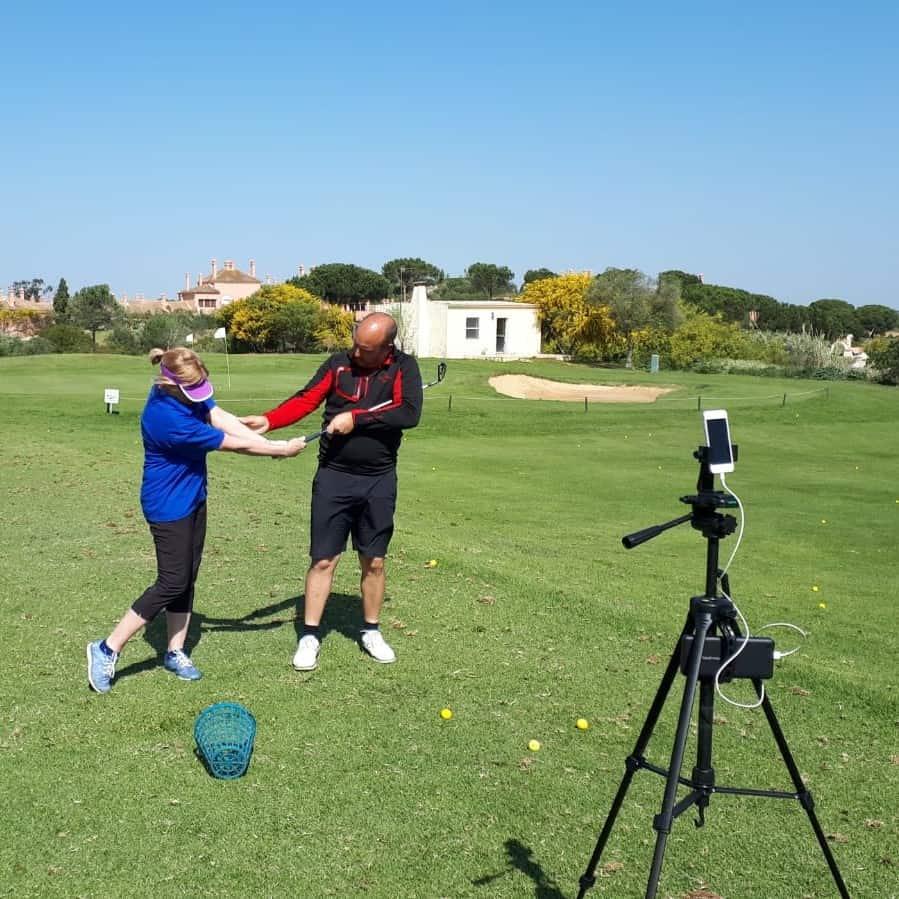 Golf School 1 on 1 Less James Andrews